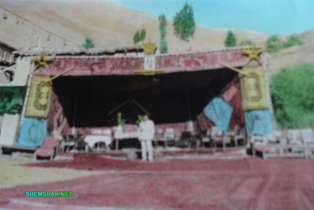 مراسم عروسی در شمشک - طاق نصرت